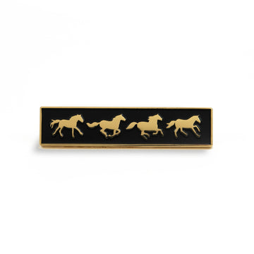 Wild Horses Pin - Tough Times
