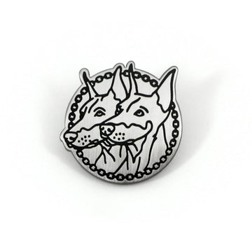 Pharaoh's Dogs Pin - Tough Times