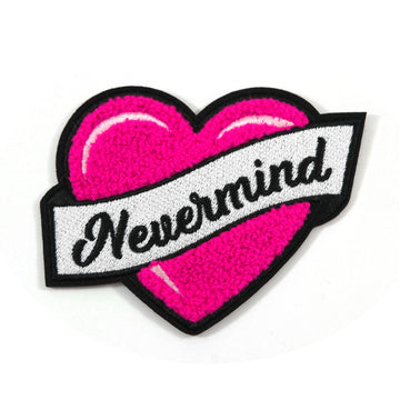 Nevermind Chenille Patch