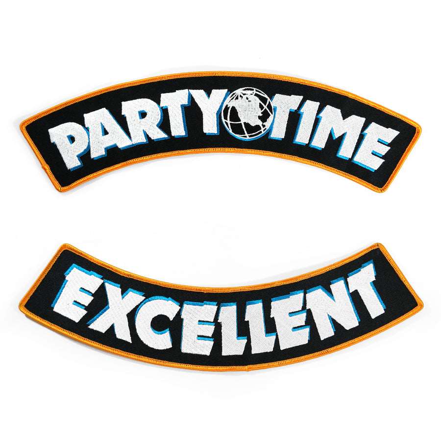 Party Time Rocker Patch Set