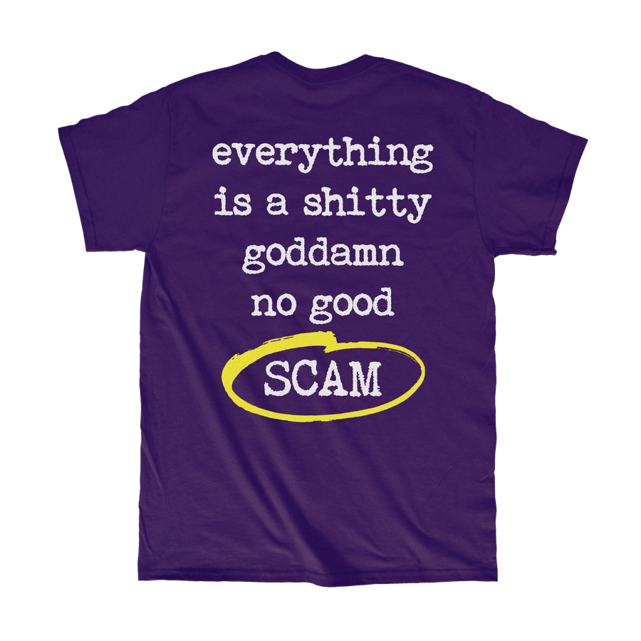 Scam T-Shirt - Tough Times