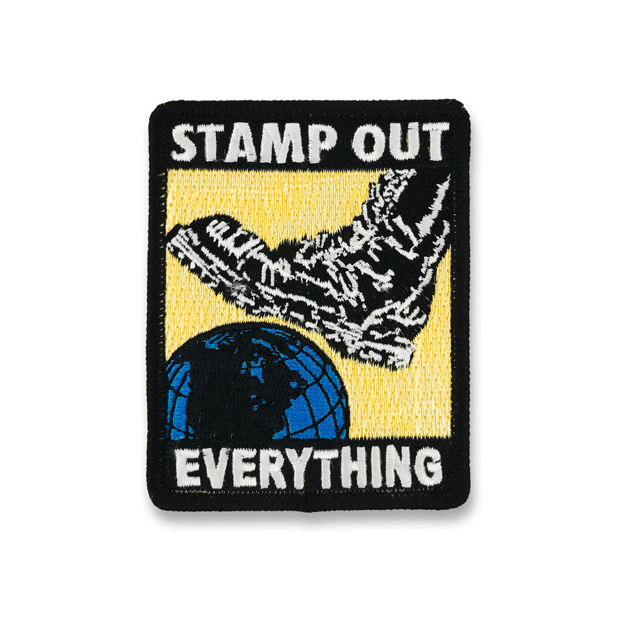 Stamp Out Everything Color Patch
