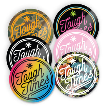 Tough Times Sticker Pack 4 - Tough Times