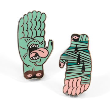 As Above, So Below Pin Set - Tough Times