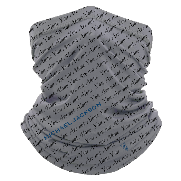 YOU ARE NOT ALONE NECK GAITER