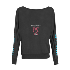 HIStory 25 Women's Black L/S T-Shirt