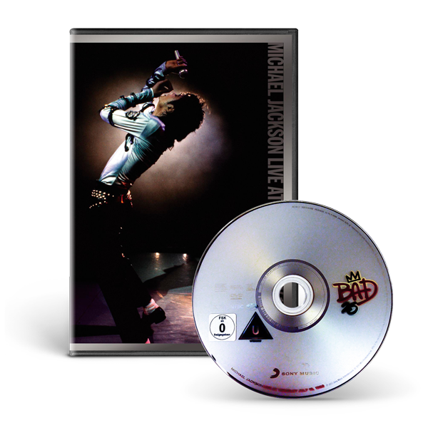 MICHAEL JACKSON LIVE AT WEMBLEY JULY 16, 1988 - DVD