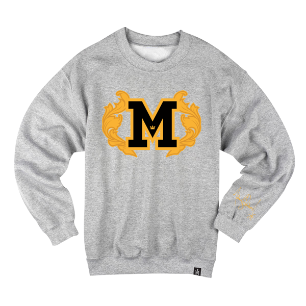 PATCH M CREWNECK SWEATSHIRT
