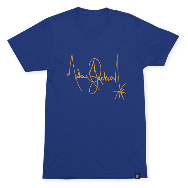 SIGNATURE BLUE T-SHIRT