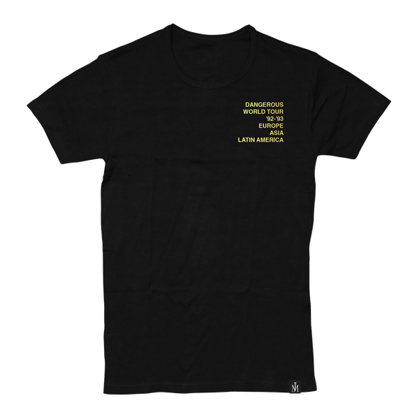 DANGEROUS YELLOW TOUR T-SHIRT