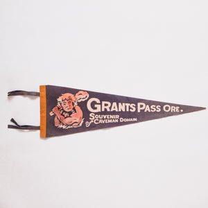 Vintage Grants Pass, Oregon Pennant