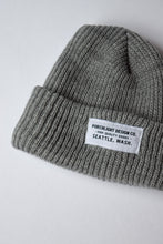 Knit Beanie In Gray
