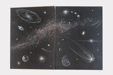 "Vintage ""All About the Stars"" Hardcover Book"