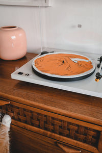 Cat Turntable Slipmat