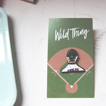 Wild Thing Rick Vaughn Enamel Pin