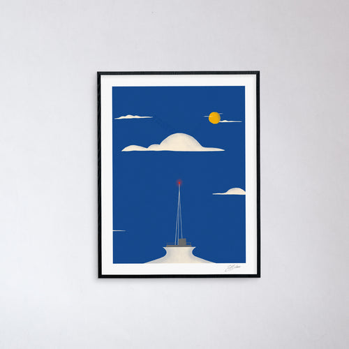 Needle In The Clouds Print