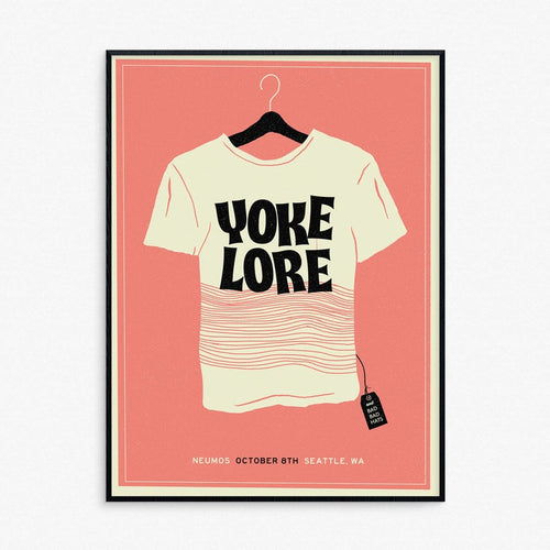Yoke Lore Seattle Show Poster