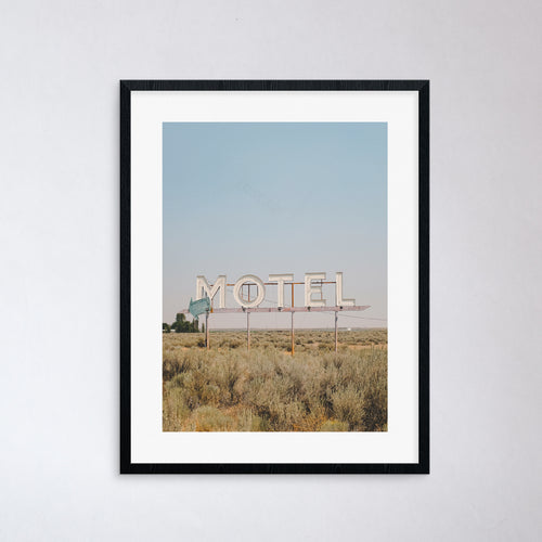 Eastern Washington Motel Print