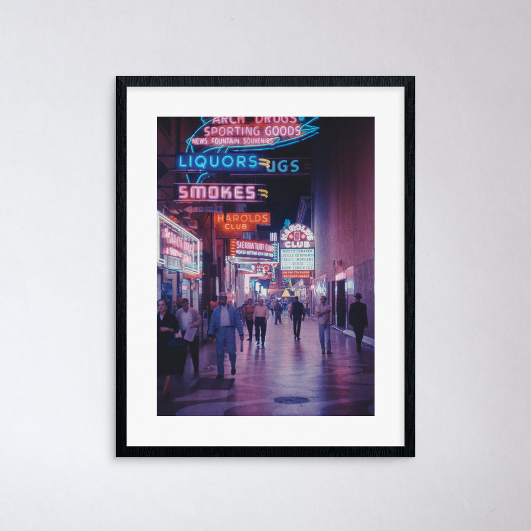 Neon Alley Print