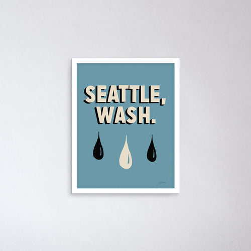 Seattle, Wash. Print
