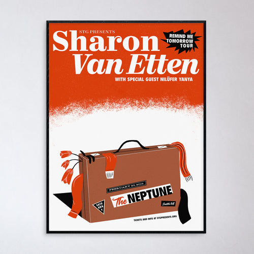 Sharon Van Etten Seattle Show Poster