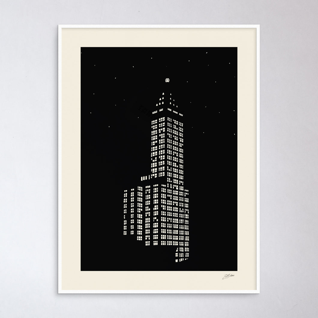 Smith Tower Print