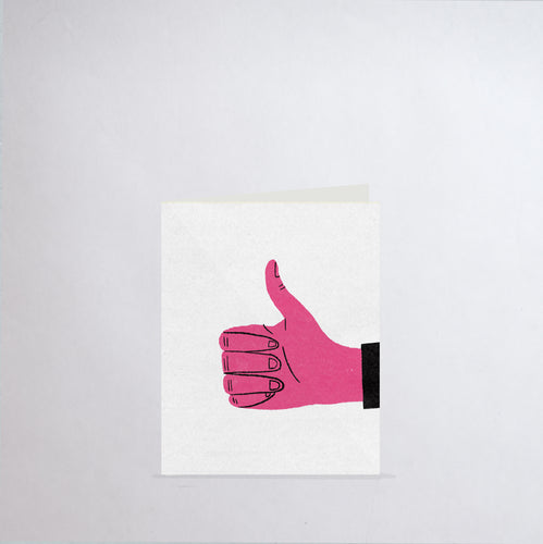Thumbs Up Greeting Card (2-Pack)