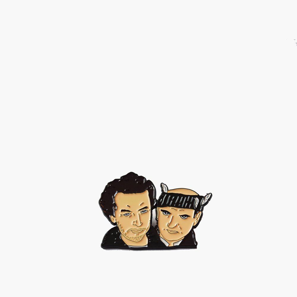 Wet Bandits Enamel Pin