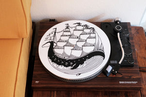 Whaleship Turntable Slipmat