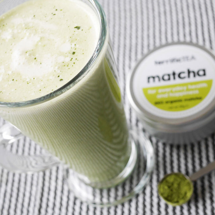 Matcha chai latte (Iced or hot)