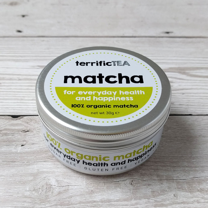 Terrific tea organic ceromonial grade matcha