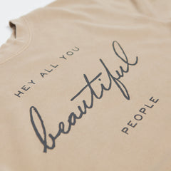 Beautiful People Crewneck Sweatshirt by Christy Nockels Close Up