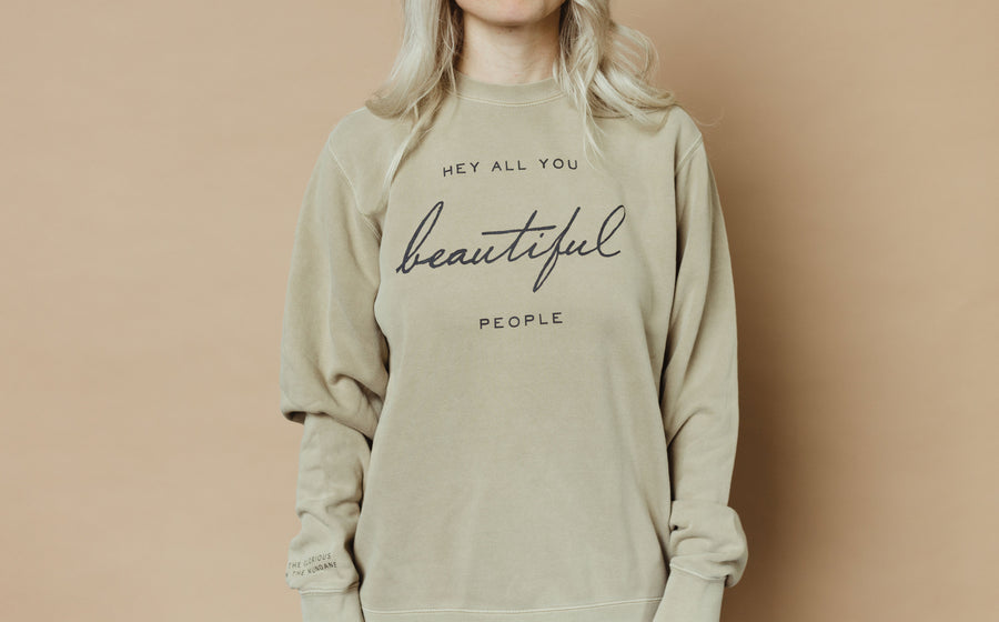 Beautiful People Crewneck Sweatshirt