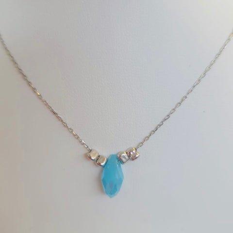 Blue Stone Daily Necklace