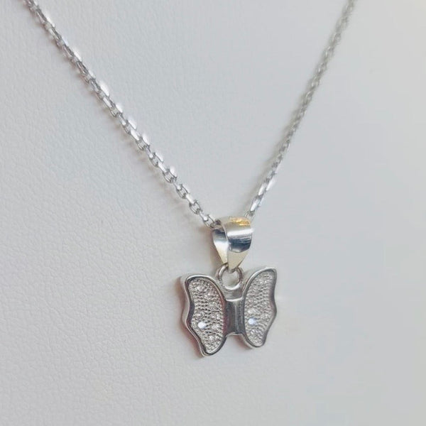 Simple Everyday Butterfly Necklace