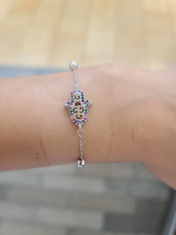 Hamsa Bracelet Turkish Jewelry