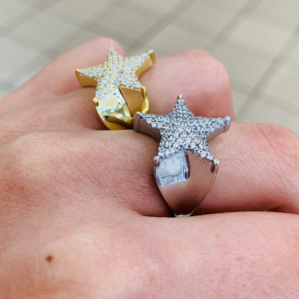 Big Star Sterling Silver Ring