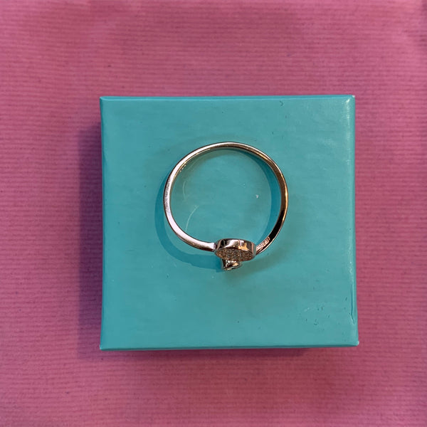 Sterling Silver Circle Ring Tiny