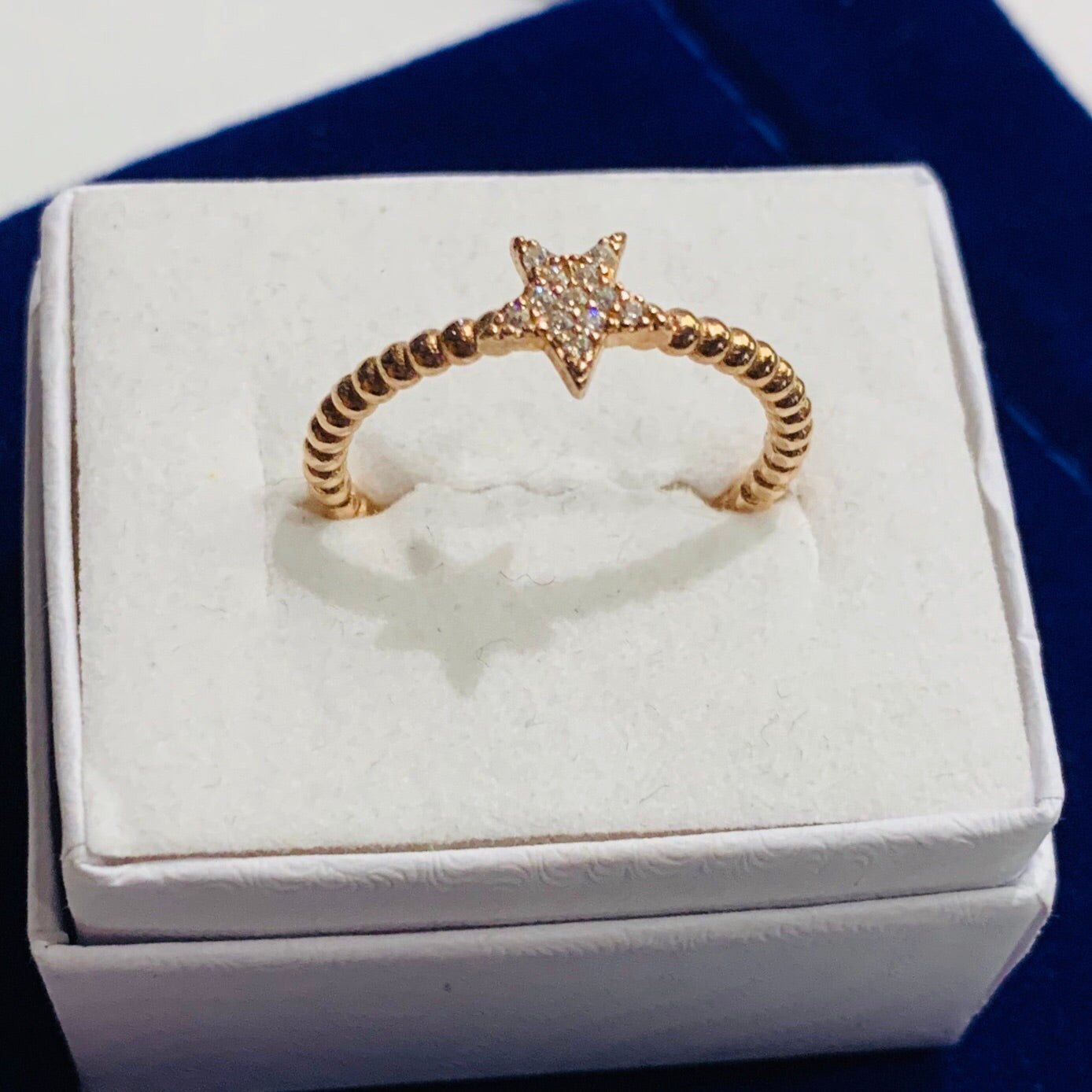 Handmade Tiny Star  Sterling Silver Ring