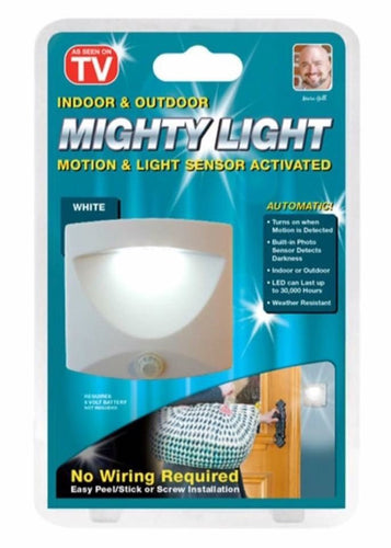 Mighty Light with Motion sensor Light Up Automatic