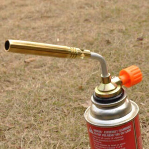 Gas Torch Burner Flame Gun for Welding, Kitchen Removable Blow Lamp Torch