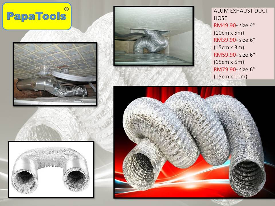 ALUM EXHAUST DUCT HOSE