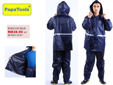 Raincoat pan set reflextive (blue)