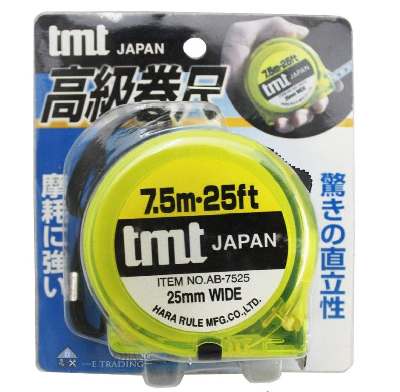 TMT NORMALL SPRING MEASURING TAPE 7.5M