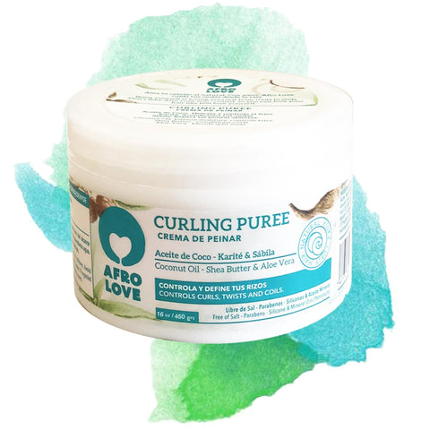 AFRO LOVE | Curling Puree Coconut Oil & Sheabutter & Aloe vera