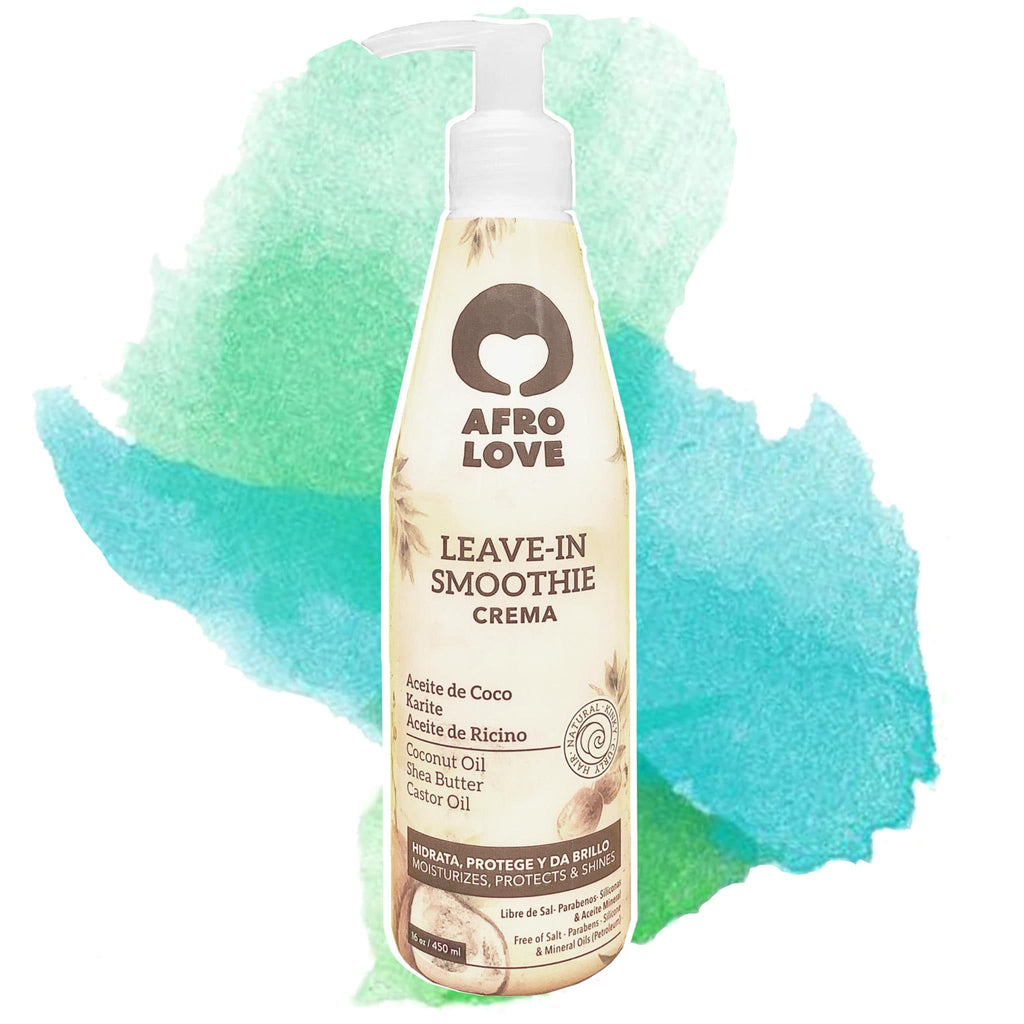 Afro Love | Leave In Smoothie Coconut oil & Shea Butter & Castor Oil (Large)