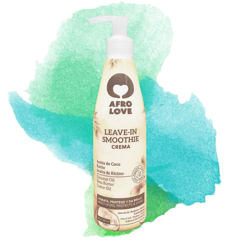 Afro Love | Leave In Smoothie Coconut oil & Shea Butter & Castor Oil