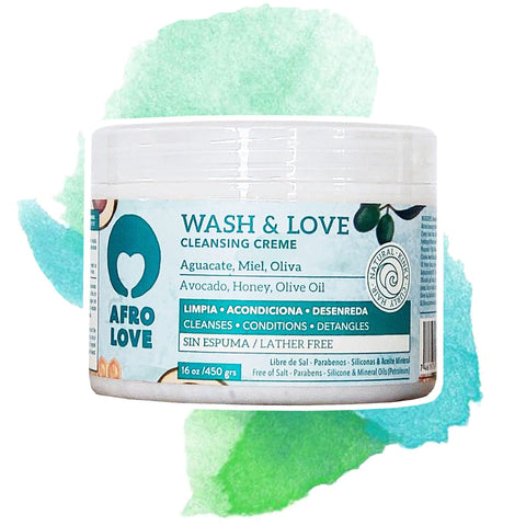 AFRO LOVE | Wash & Love Cleansing Creme Gross
