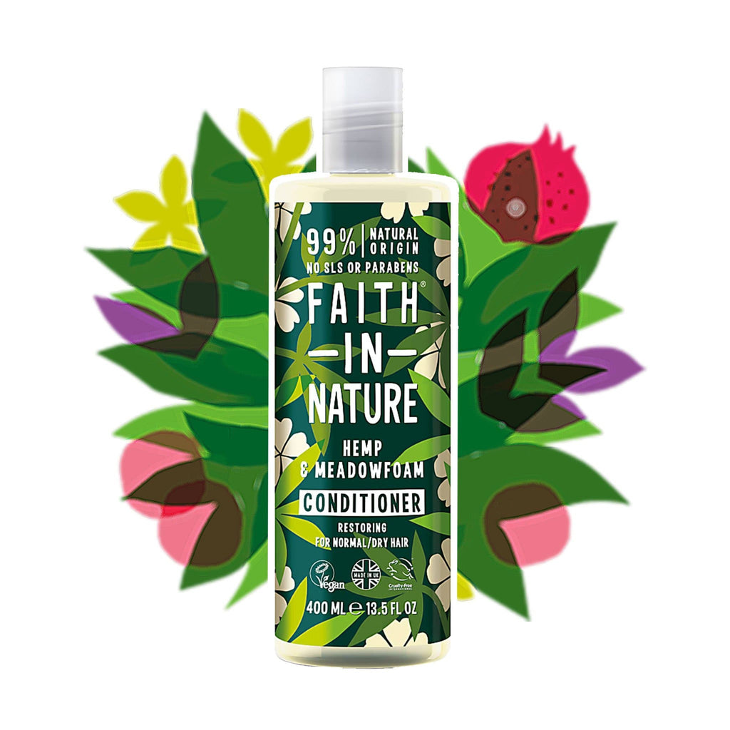 Faith in Nature | Hemp & Meadofoam Conditioner