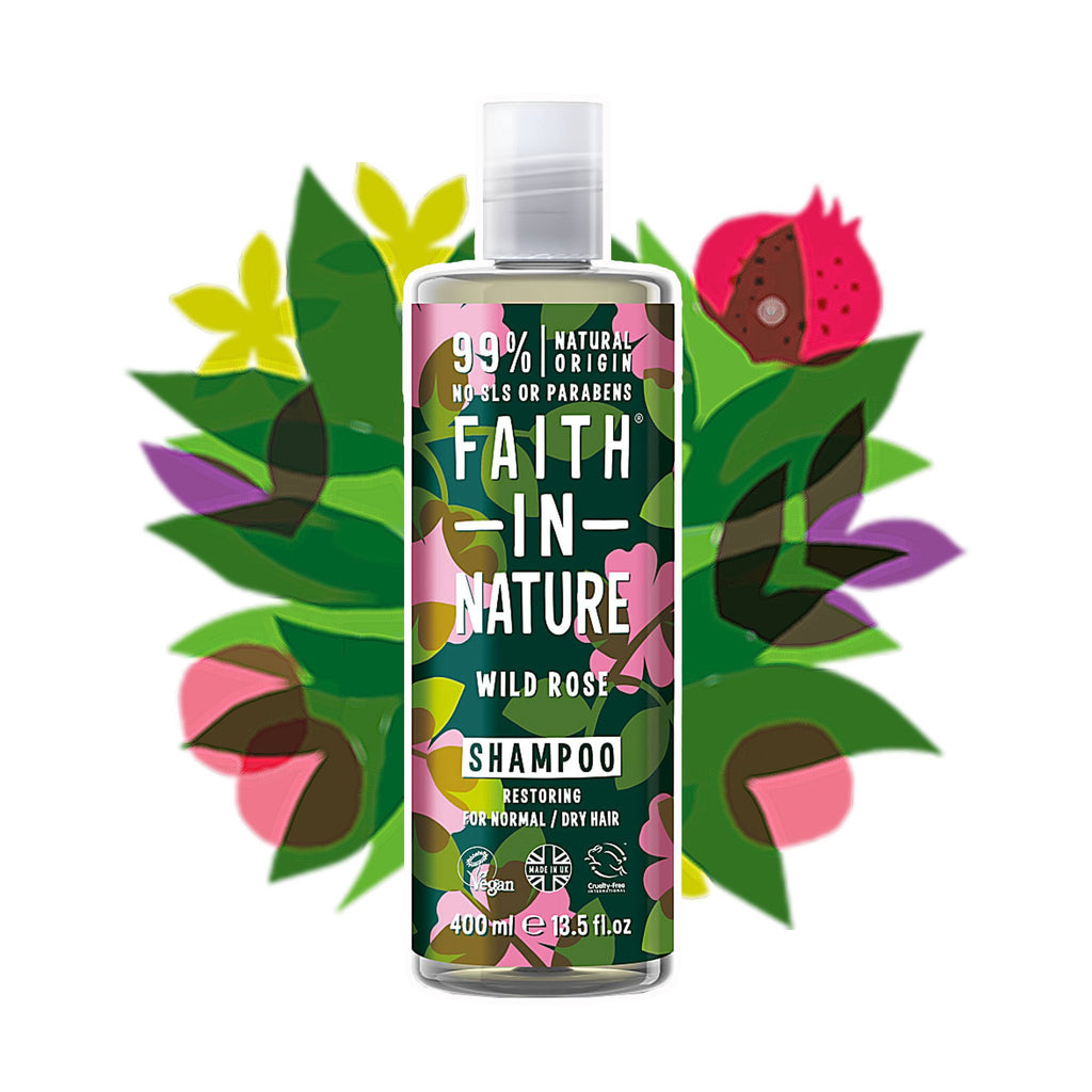 Faith in Nature | Wild Rose Shampoo